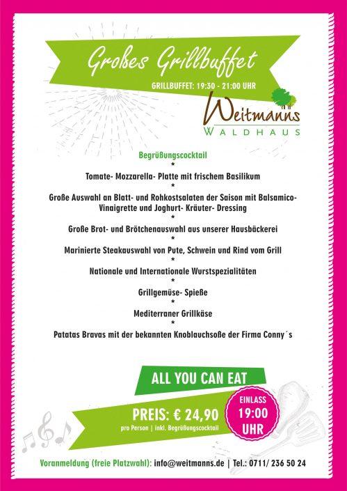 Sommerparty Weitmanns Waldhaus